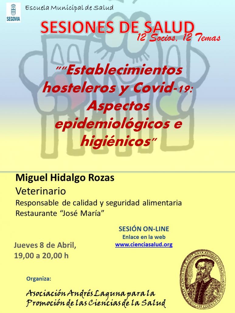 ESTABLECIMIENTOS HOSTELEROS Y COVID-19. ASPECTOS EPIDEMIOLÓGICOS E HIGIÉNICOS